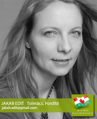 Jakab Edit, hivatalos fordító, tolmács
