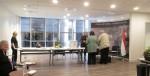 Szavazás a magyar főkonzulátuson